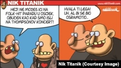 Karikatura Nika Titanika