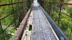 Aşgabatda urlup öldürilen bir oglan köprüden aşak zyňyldy