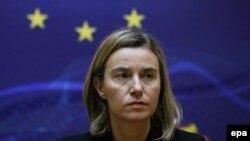 Представниця Євросоюзу із зовнішньої політики Федеріка Моґеріні