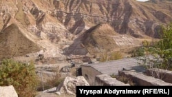 Майлуу-Суудагы уран калдыктары көмүлгөн жай