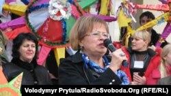 Директор Української гімназії Наталя Руденко
