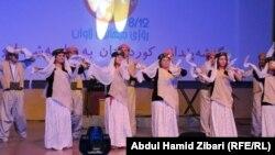 من فعاليات مهرجان الشباب في اربيل