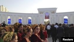 """Arkadag"" parkynyň açylyş dabarasy. Aşgabat, 29-ny iýun, 2015."