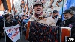Під час офіційного святкування Дня народної єдності, Москва, 4 листопада 2014 року