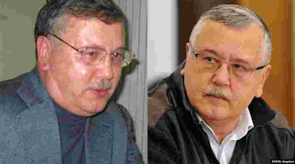 Народний депутат України Анатолій Гриценко в жовтні 2009 року так само зареєстрував свою кандидатуру на вибори президента України