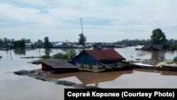 Наводнение в Приангарье (иллюстративное фото)