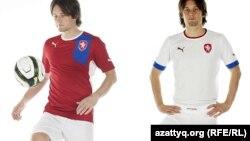 Чехия футбол командасының киімі.