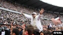 გია გაჩეჩილაძე (უცნობი) 26 მაისი, ოპოზიციის საპროტესტო აქცია პაიჭაძის სახელობის ეროვნულ სტადიონზე