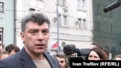Серед затриманих - російський опозиційний політик Борис Нємцов
