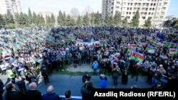 Митинг оппозиции в Баку