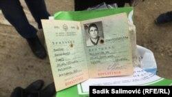 Lična karta ubijenog Redžepa Mehmedovića