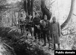 Militari austro-ungari luați prizonieri la Oituz