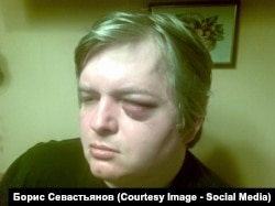 Василий Рябко после избиения