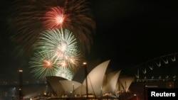 Ավստրալիա - Սիդնեյում դիմավորում են Նոր տարին