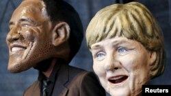 """Накануне открытия саммита в Мюнхене прошли """"маски-шоу"""" - акция в поддержку благотворительных программ"""