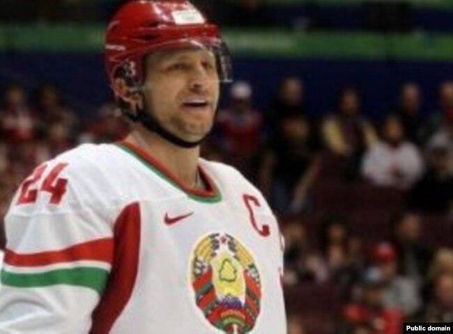 Капітан зборнай Беларусі Руслан Салей