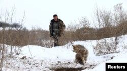 Охота на волков.