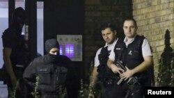Pjesëtarë të policisë speciale të Francës