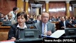 Nataša Vučković (L) i Bojan Pajtić (D)