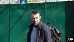 Алексей Навальный 6 марта этого года в Москве, после 15 суток административного ареста.