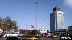 Թուրքիա -- Թաքսիմի հրապարակը Ստամբուլում
