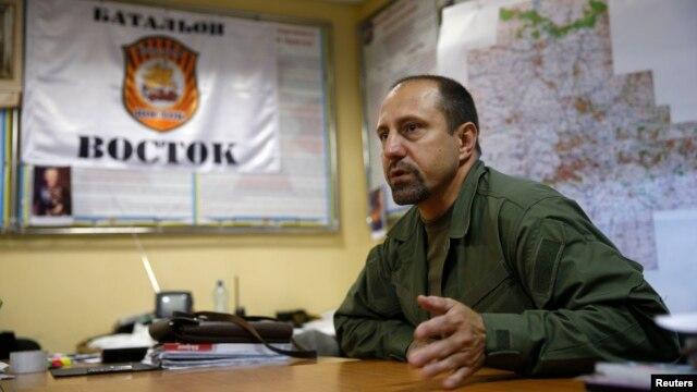 Олександр Ходаковський, архівне фото, Донецьк, 8 липня 2014 року