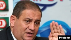 Armenia -- Agriculture Minister Gerasim Alaverdian, undated.
