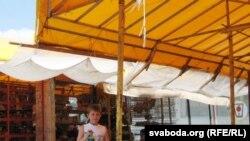 На рынку ў Горадні.