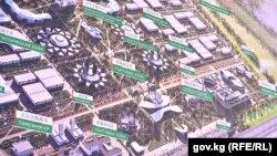 Проект индустриально-торгово-логистического центра «Ат-Баши».