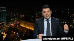 Էդուարդ Շարմազանովը «Ազատություն TV»-ի եթերում, 23-ը նոյեմբերի, 2014թ․