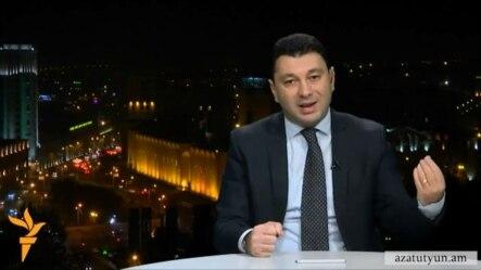 Эдуард Шармазанов в эфире «Азатутюн ТВ», 23 ноября 2014 г․