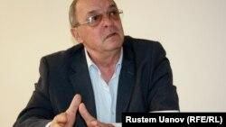 Владимир Куропатенко, председатель Ассоциации авиаперевозчиков Казахстана. Алматы, 6 февраля 2013 года.