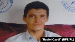 Шахриёр Турахонов, приговоренный судом Таджикистана к 25 годам тюрьмы по обвинению в причастности к движению «Талибан».