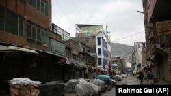 کابل کې د قرنطین ورځو پر مهال منډوي سیمه