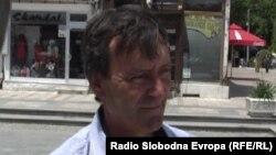Димитрија Саботкоски, сопственик на мал дуќан во Прилеп.
