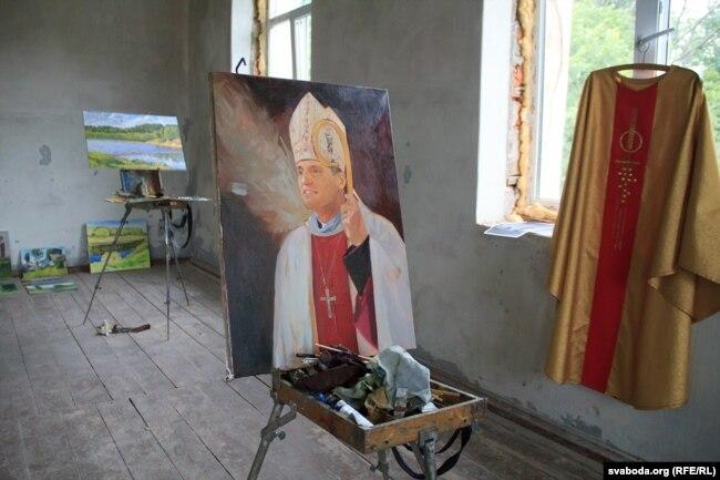 Партрэт віцебскага біскупа Алега Буткевіча