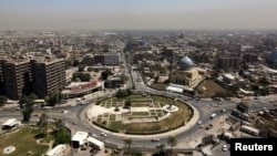 Pamje e qendrës së Bagdadit