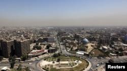 Pamje nga një pjesë e kryeqytetit Bagdad në Irak
