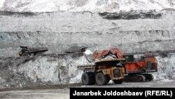 Құмтөр алтын кені. Қырғызстан, 22 ақпан 2013 жыл.
