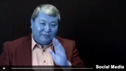 Мелис Мырзакматовдун видеокайрылуусунан алынган сүрөт