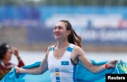 Александра Опачанова Азия ойындарында. 23 тамыз 2018 жыл