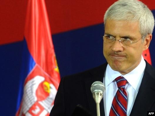 Predsednik Srbije Boris Tadić na konferenciji za novinare 22. jula 2010. godine