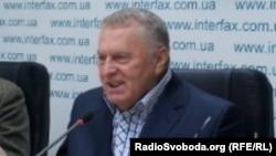 Ресей мемлекеттік думасының депутаты Владимир Жириновский.