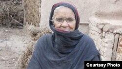 Америка Биби, этническая пуштунка, живущая в Пакистане.