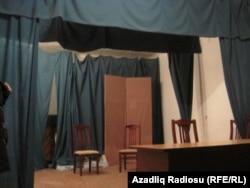 Nizami Rayon Mədəniyyət Mərkəzinin səhnəsi