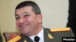 Armenia - Vladimir Gasparian, the newly appointed chief of the national police.