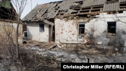 Авдеевка – после обстрела (1 февраля 2017 г.)