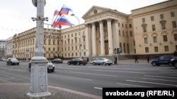 Будынак КДБ ў Менску