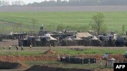 Один из военных лагерей в Ростовской области