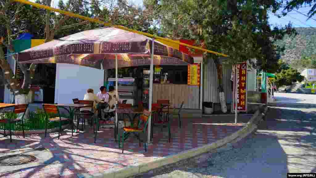 Кафе в центрі Нового Світу